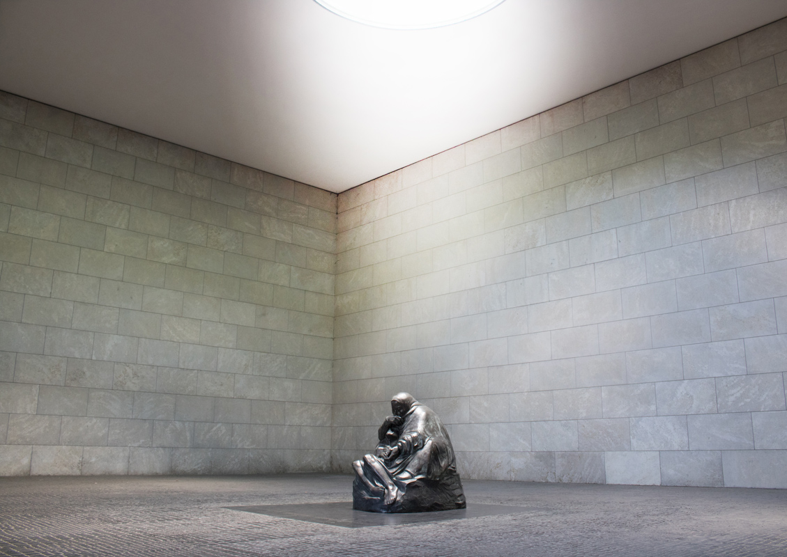 I Leave my Son to the Light. Neue Wache, Berlin, Germany.