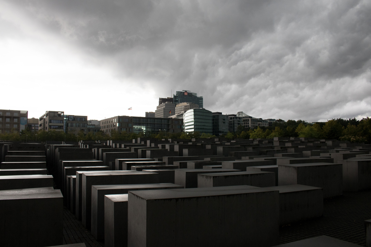 Our Home, Their Home. Memorial to the Murdered Jews of Europe, Berlin, Germany.