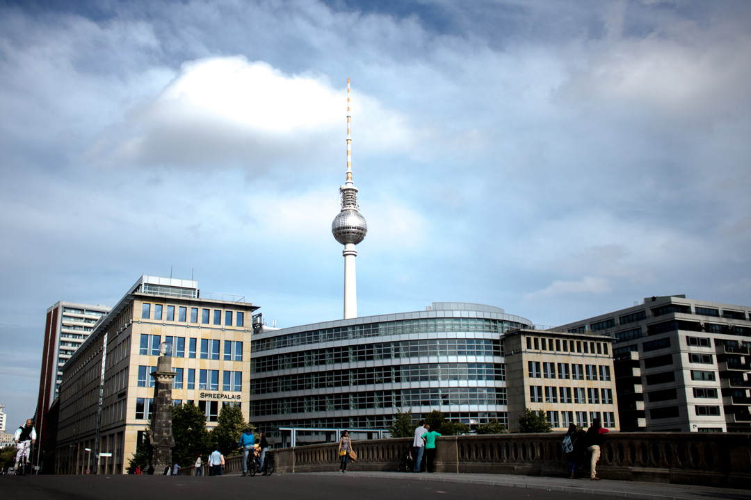 The Tower that Saw All but Nothing. Berlin, Germany.